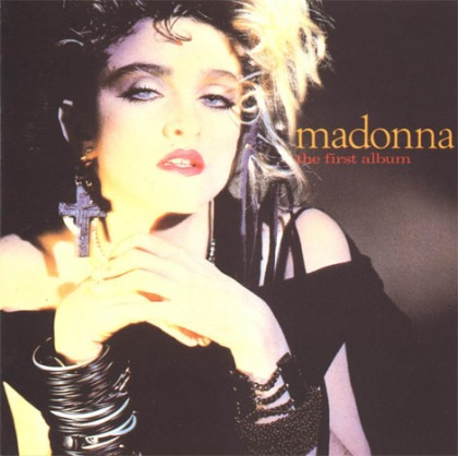 Madonna's hands - album: 'The First Album' (1985)