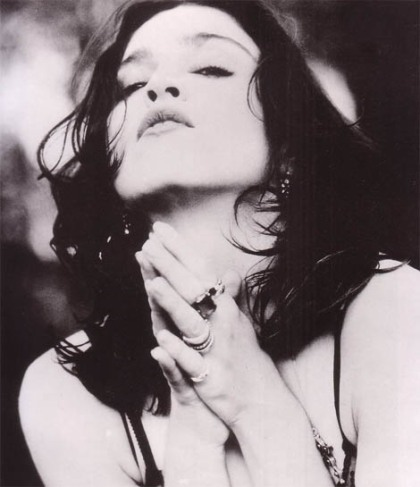 Madonna's hands - like a prayer (1989).