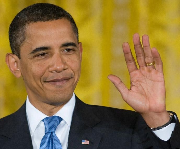 US Presidential hands: Mitt Romney vs. Barack Obama! Barack-obama-left-hand-gesture