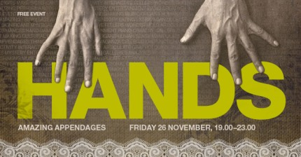 NOV 26 - LONDON: A 'Hands' event at Wellcome Collection! Welcome-collection-london-hands-event